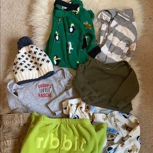 8 piece 6 month boys bundle